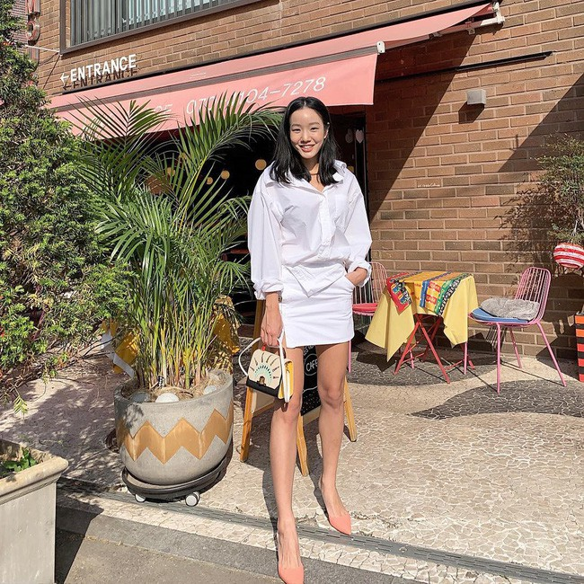 Cá là bạn không chỉ học được cách mix đồ mà còn tiện học được cả cách pose dáng ảo diệu từ street style Châu Á - Ảnh 6.