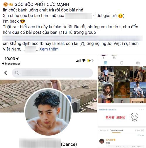 Thanh niên tự nhận là con lai có 12K người follow bị tố fake ảnh, hồn nhiên rao nhận PR trên Facebook - Ảnh 1.
