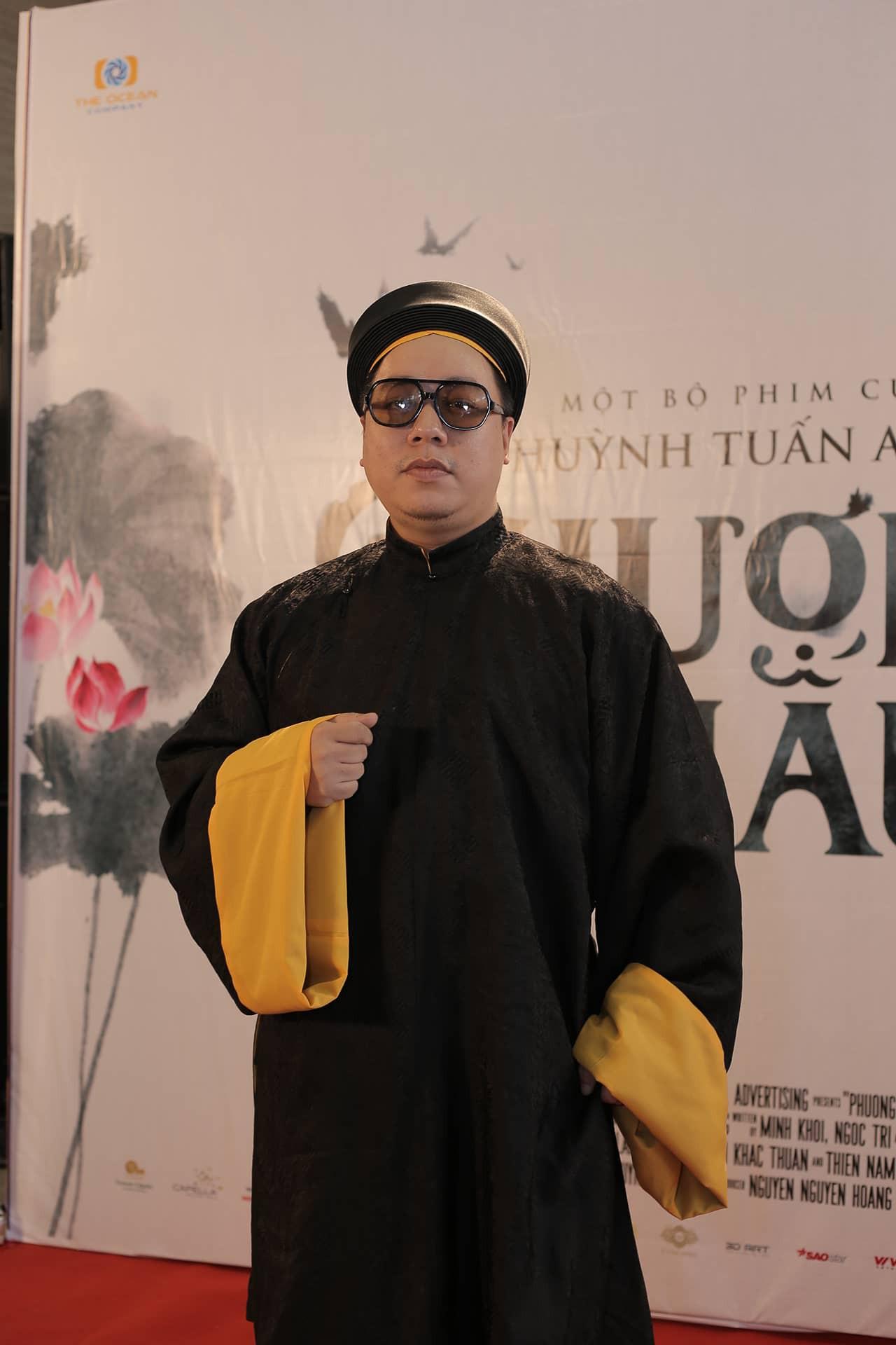 Thánh ăn hại Jun Phạm thần thái bất ngờ, sánh đôi hoàng hậu Diễm My 9x trên thảm đỏ phim cung đấu Việt Nam Phượng Khấu - Ảnh 5.