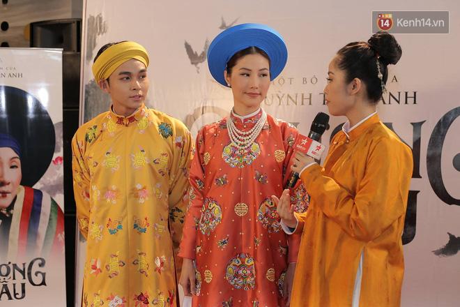 Thánh ăn hại Jun Phạm thần thái bất ngờ, sánh đôi hoàng hậu Diễm My 9x trên thảm đỏ phim cung đấu Việt Nam Phượng Khấu - Ảnh 2.