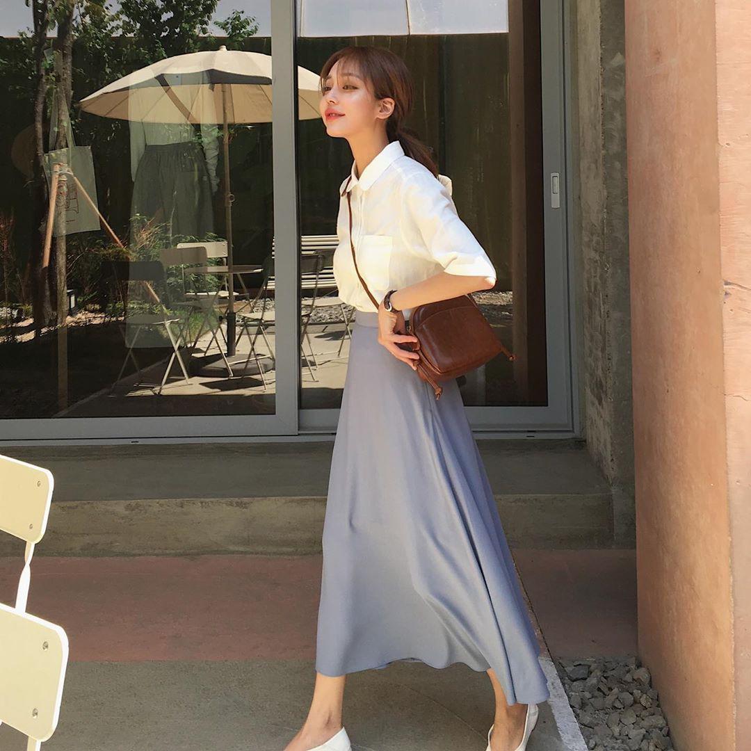 Street style Châu Á: Toàn tập là màu trắng, bộ nào bộ nấy đều đẹp và dễ mặc - Ảnh 5.