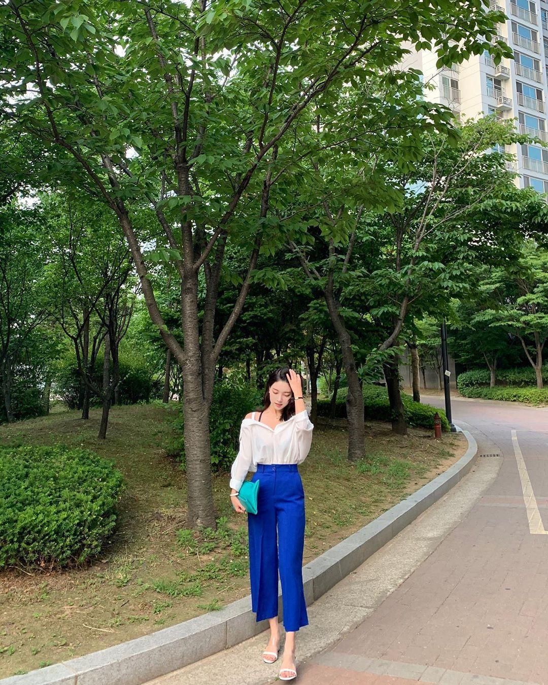 Street style Châu Á: Toàn tập là màu trắng, bộ nào bộ nấy đều đẹp và dễ mặc - Ảnh 7.