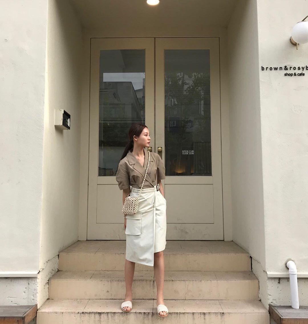 Street style Châu Á: Toàn tập là màu trắng, bộ nào bộ nấy đều đẹp và dễ mặc - Ảnh 10.