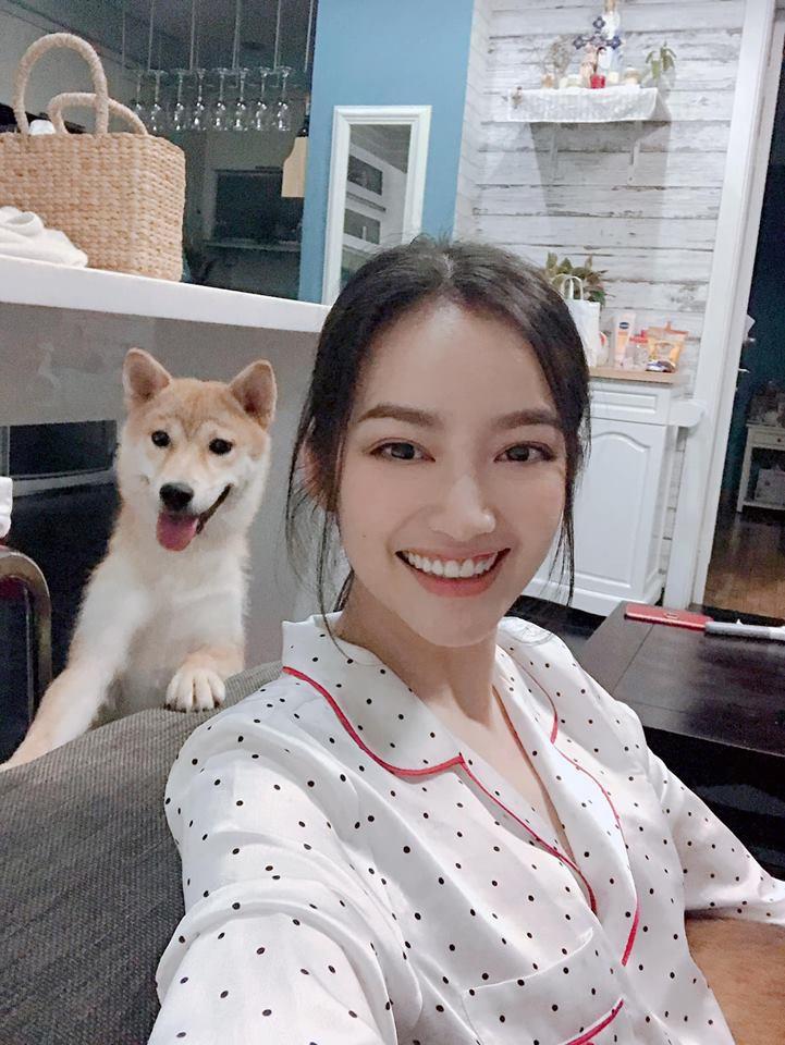 Hoa hậu Trúc Diễm: Mắt tôi đã bình thường rồi không lồi hay biến dạng nữa! - Ảnh 2.