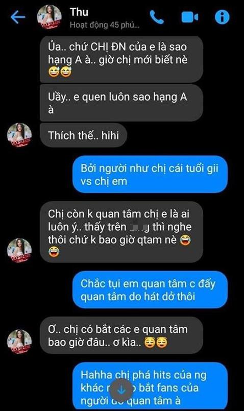 Hà Thu (Giọng hát Việt): Chị Đông Nhi không phải là Idol của tôi thì việc tôi không biết gì về chị ấy là sai sao? - Ảnh 3.