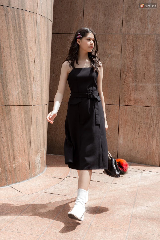 Street style giới trẻ Việt tuần qua: chẳng ưu tiên đồ mát mẻ, các bạn trẻ bất chấp mặc ngốt miễn sao có hình OOTD thật chất - Ảnh 11.