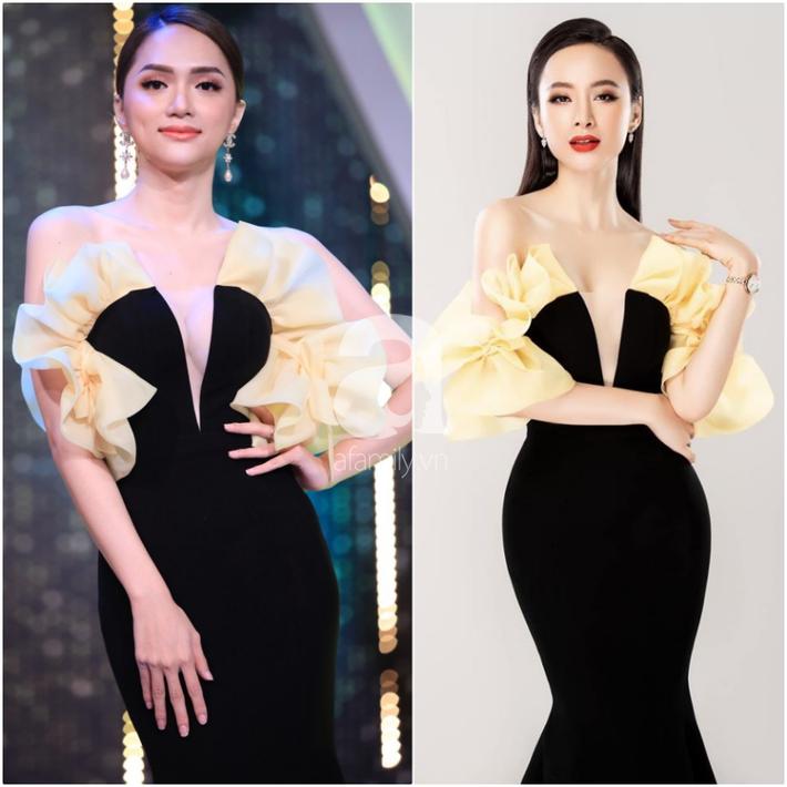 Một bộ đầm hai số phận: Đụng hàng với Angela Phương Trinh, HH Hương Giang mặc sai lè mà chẳng hề hay biết - Ảnh 4.