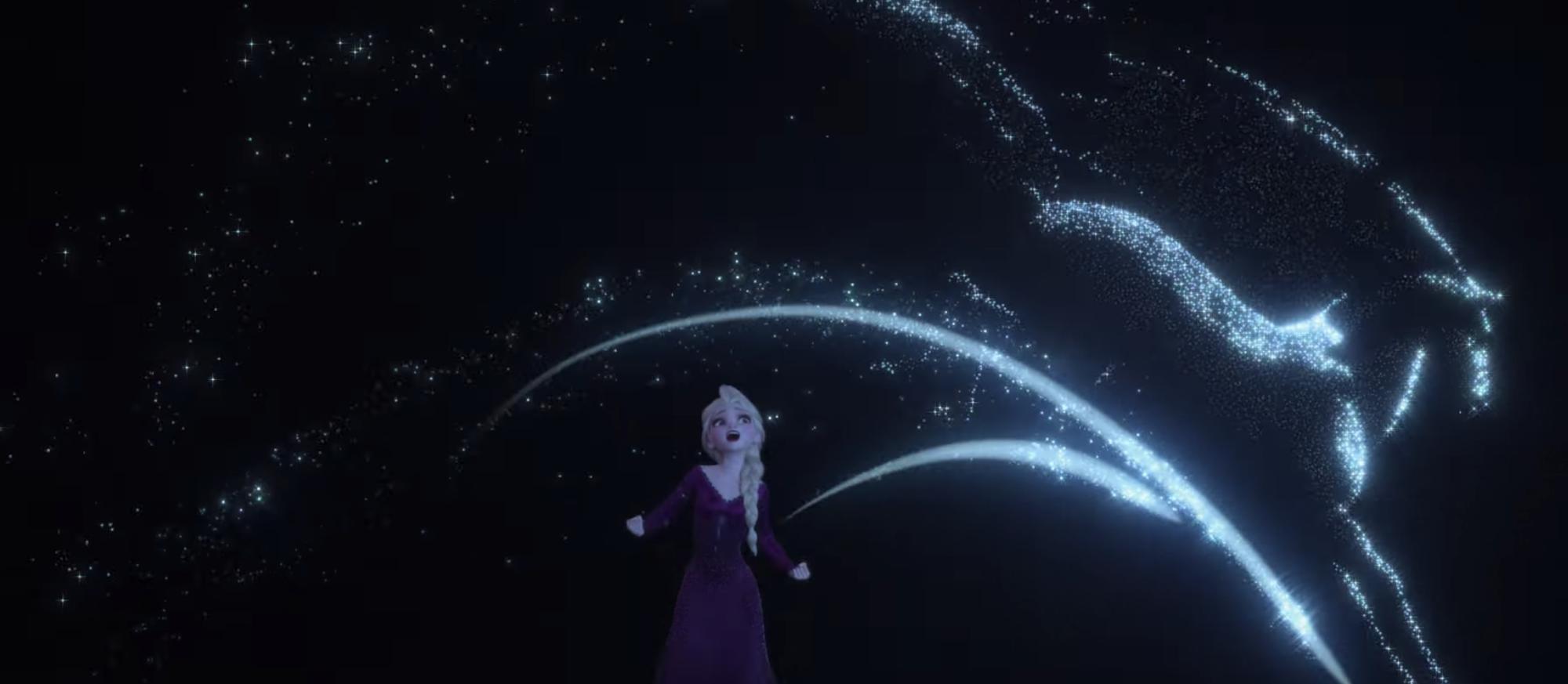 Frozen 2 tung trailer: Elsa cực kì lộng lẫy, xuất hiện siêu thú kì lân hoành tráng! - Ảnh 8.