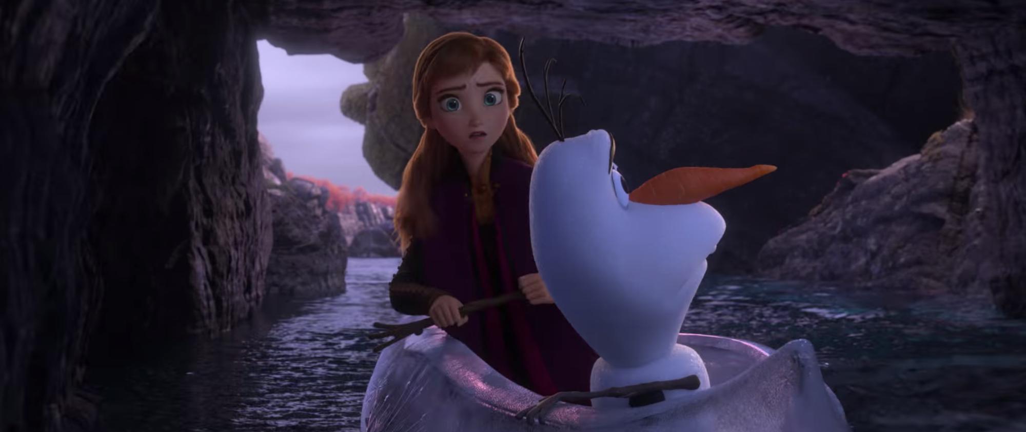 Frozen 2 tung trailer: Elsa cực kì lộng lẫy, xuất hiện siêu thú kì lân hoành tráng! - Ảnh 9.