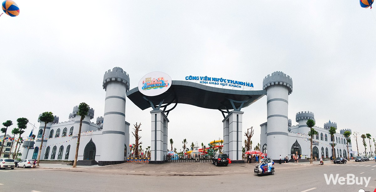 Review chi tiết công viên nước siêu to khổng lồ Thanh Hà: Trẻ em thích mê, người lớn có chút hụt hẫng - Ảnh 3.