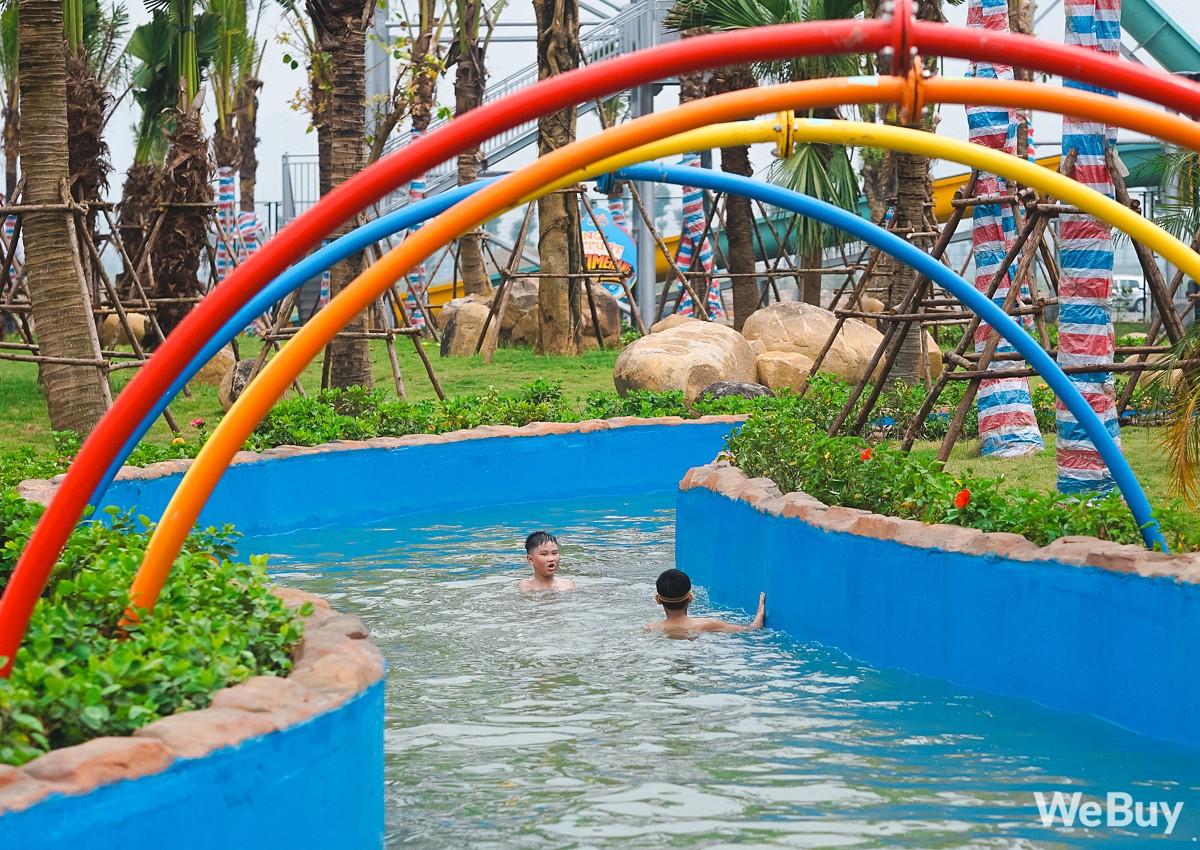 Review chi tiết công viên nước siêu to khổng lồ Thanh Hà: Trẻ em thích mê, người lớn có chút hụt hẫng - Ảnh 15.