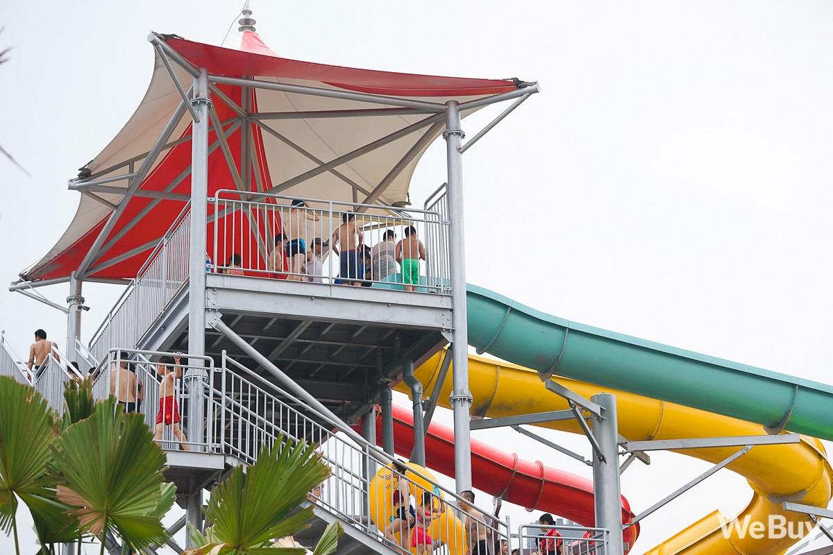 Review chi tiết công viên nước siêu to khổng lồ Thanh Hà: Trẻ em thích mê, người lớn có chút hụt hẫng - Ảnh 9.