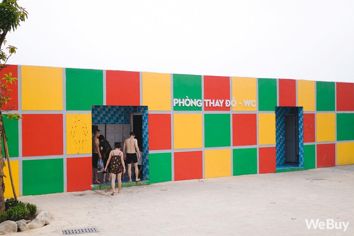 Review chi tiết công viên nước siêu to khổng lồ Thanh Hà: Trẻ em thích mê, người lớn có chút hụt hẫng - Ảnh 6.