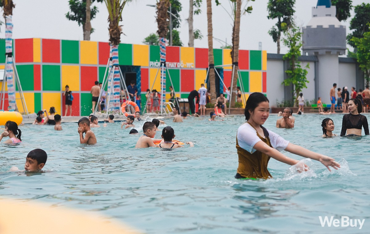 Review chi tiết công viên nước siêu to khổng lồ Thanh Hà: Trẻ em thích mê, người lớn có chút hụt hẫng - Ảnh 7.