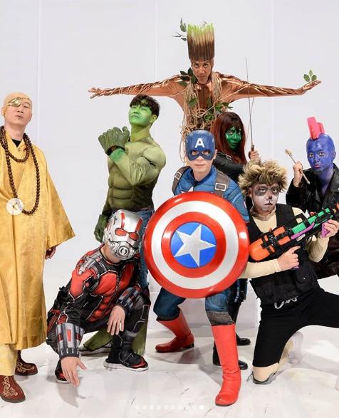 Running Man Hàn và Việt đồng loạt hóa Avengers, nhân vật của Lan Ngọc là nổi bật nhất! - Ảnh 1.