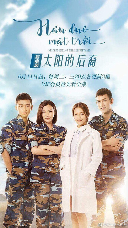 Bất ngờ chưa: Hậu Duệ Mặt Trời bản Việt được kênh truyền hình Trung mua lại nhưng... viết sai tên đạo diễn - Ảnh 4.