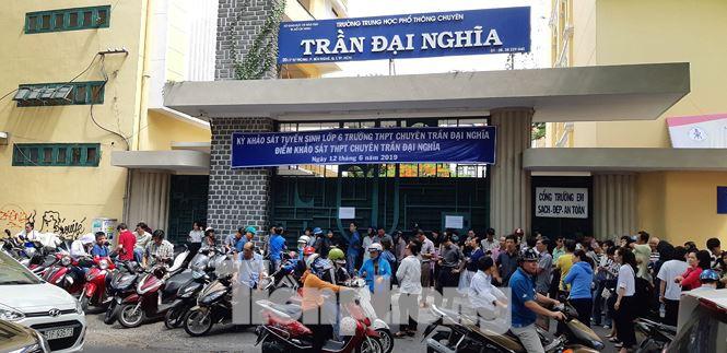 Tính giá điện vào bài thi khảo sát lớp 6 chuyên Trần Đại Nghĩa TPHCM - Ảnh 2.