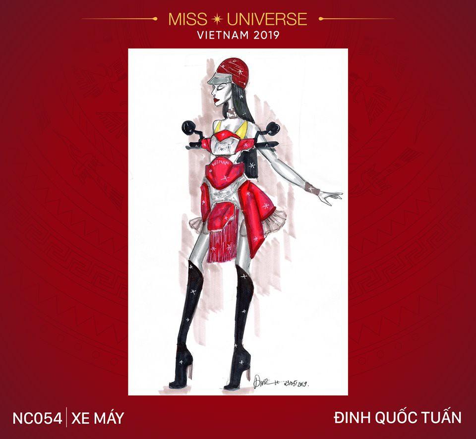 Choáng với loạt ý tưởng trang phục mới dành cho Hoàng Thuỳ dự thi Miss Universe: Từ ninja Lead, heo quay đến cây ATM - Ảnh 2.