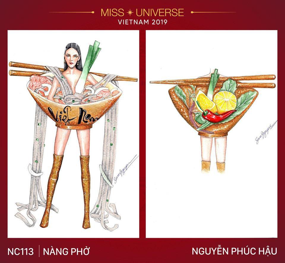 Choáng với loạt ý tưởng trang phục mới dành cho Hoàng Thuỳ dự thi Miss Universe: Từ ninja Lead, heo quay đến cây ATM - Ảnh 3.