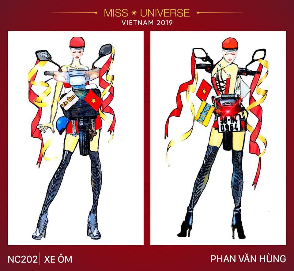 Choáng với loạt ý tưởng trang phục mới dành cho Hoàng Thuỳ dự thi Miss Universe: Từ ninja Lead, heo quay đến cây ATM - Ảnh 5.