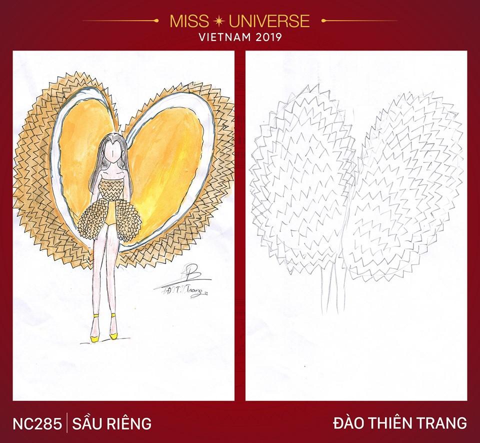 Choáng với loạt ý tưởng trang phục mới dành cho Hoàng Thuỳ dự thi Miss Universe: Từ ninja Lead, heo quay đến cây ATM - Ảnh 6.