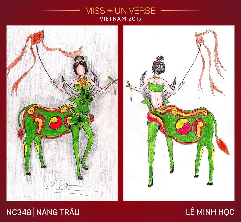 Choáng với loạt ý tưởng trang phục mới dành cho Hoàng Thuỳ dự thi Miss Universe: Từ ninja Lead, heo quay đến cây ATM - Ảnh 7.