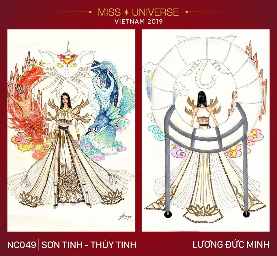 Choáng với loạt ý tưởng trang phục mới dành cho Hoàng Thuỳ dự thi Miss Universe: Từ ninja Lead, heo quay đến cây ATM - Ảnh 8.