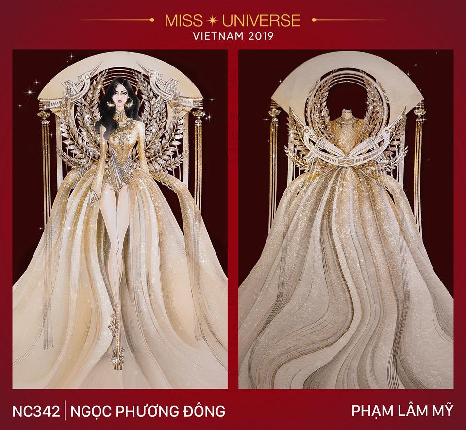 Choáng với loạt ý tưởng trang phục mới dành cho Hoàng Thuỳ dự thi Miss Universe: Từ ninja Lead, heo quay đến cây ATM - Ảnh 9.