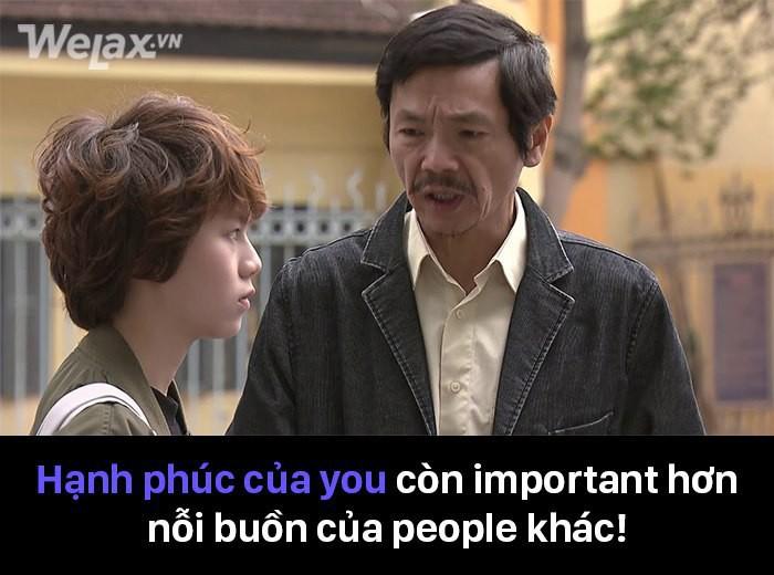 Những màn lộng ngôn trong Về nhà đi con mà được đọc theo kiểu tiếng Việt ft. tiếng Anh thế này thì đúng là: PHÁT ĐIÊN! - Ảnh 7.