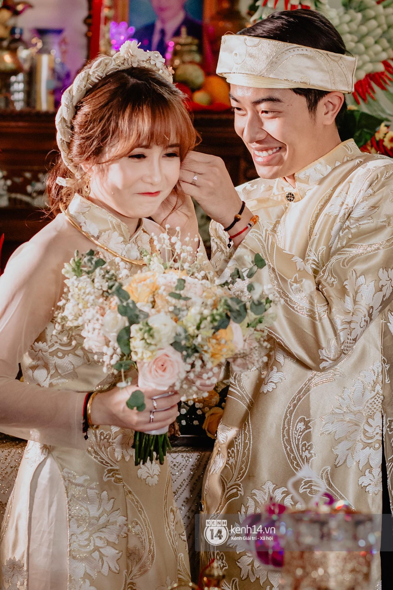 Chùm ảnh rạng rỡ của Cris Phan và Mai Quỳnh Anh trong lễ cưới ở Phú Yên - Ảnh 7.