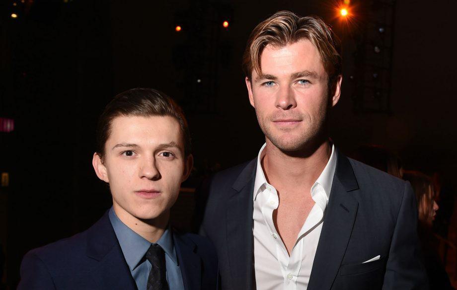 """Tin được không, """"Thần Sấm"""" Chris Hemsworth mới là người giúp Tom Holland nhận được vai Spider-Man - Ảnh 5."""