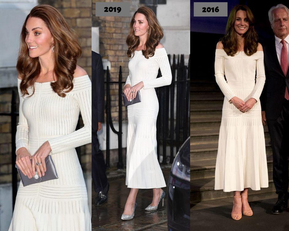Diện lại đầm gợi cảm từ 3 năm trước, Công nương Kate cho thấy cả một sự nâng tầm về nhan sắc và phong cách - Ảnh 7.