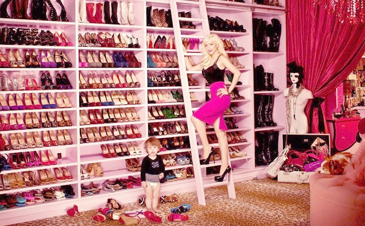 Chị em Hollywood khoe tủ đồ sang chảnh ngút ngàn, riêng của Britney thì đến fan còn bĩu môi chê là thua... chợ Bà Chiểu - Ảnh 9.