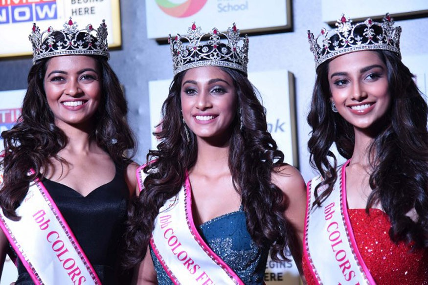 Photo of the coronation of Miss India: Miss and 2, runner-up with the same frame as the mass circulation - Photo 2.