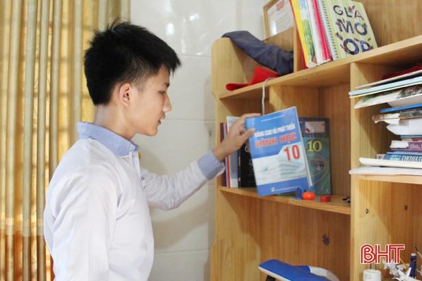 Học sinh trường làng đạt điểm 10 duy nhất kỳ thi lớp 10 THPT Chuyên Hà Tĩnh - Ảnh 2.