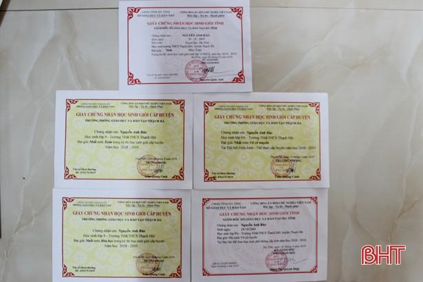 Học sinh trường làng đạt điểm 10 duy nhất kỳ thi lớp 10 THPT Chuyên Hà Tĩnh - Ảnh 3.