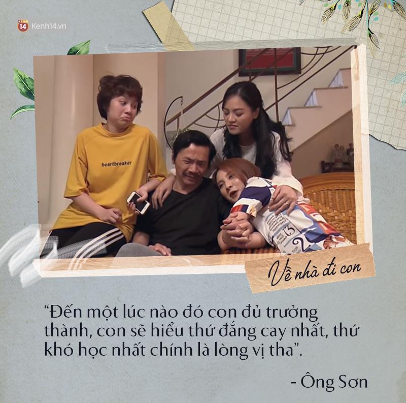 3 ông bố của Về nhà đi con cũng như mọi bậc phụ huynh trên đời đều muốn dạy con mình những điều tốt nhất - Ảnh 19.