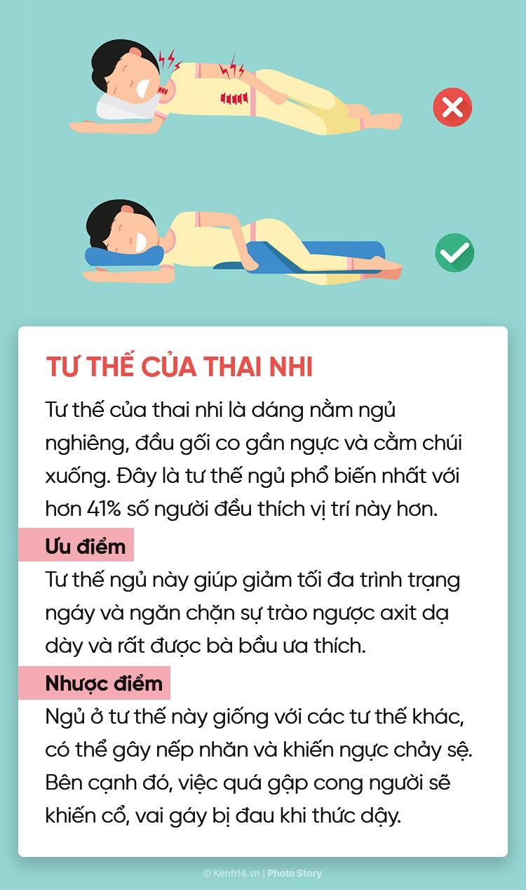 Điểm danh 6 tư thế ngủ quen thuộc để chọn riêng cho mình phương án phù hợp nhất - Ảnh 7.