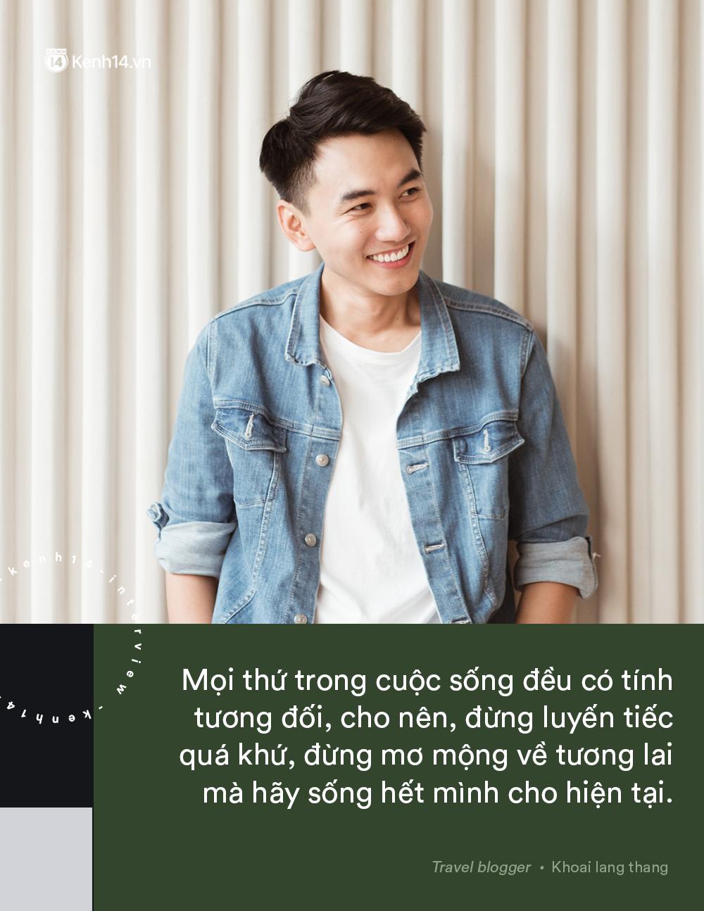 Blogger điển trai Khoai Lang Thang tiết lộ từng bị lừa tiền năm 18 tuổi, giàu hơn rất nhiều khi bỏ nghề kỹ sư để làm du lịch - Ảnh 6.