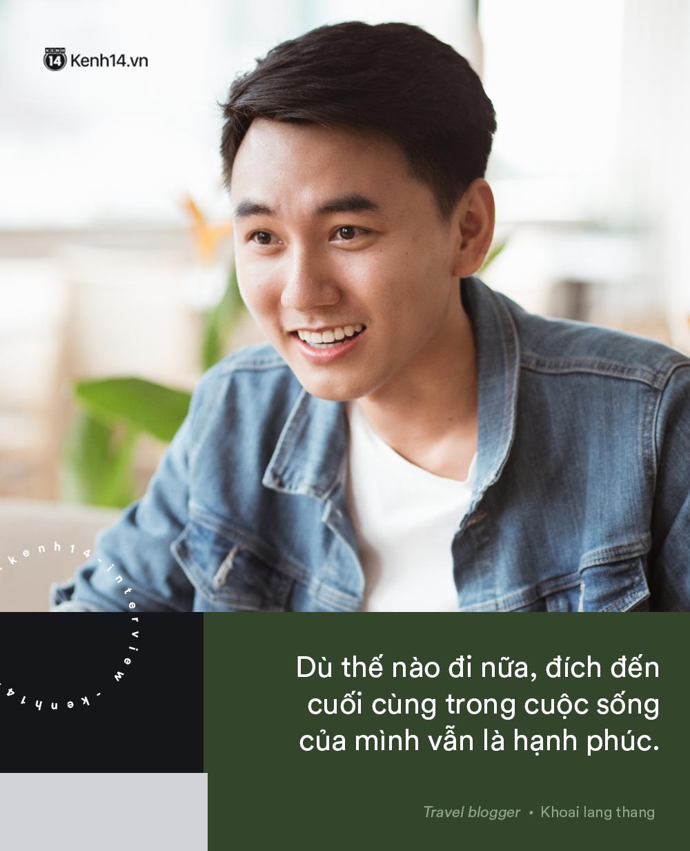 Blogger điển trai Khoai Lang Thang tiết lộ từng bị lừa tiền năm 18 tuổi, giàu hơn rất nhiều khi bỏ nghề kỹ sư để làm du lịch - Ảnh 11.