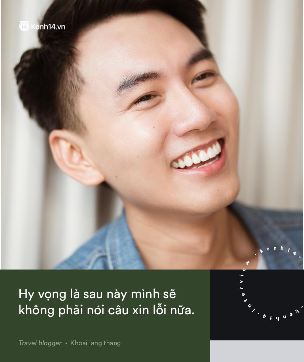 Blogger điển trai Khoai Lang Thang tiết lộ từng bị lừa tiền năm 18 tuổi, giàu hơn rất nhiều khi bỏ nghề kỹ sư để làm du lịch - Ảnh 14.