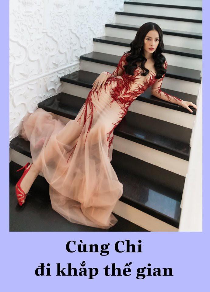 """Biết chị nhà thích đi du lịch, """"fanti"""" cho Chi Pu đi vòng quanh thế giới nhân dịp sinh nhật với... đúng 1 bộ đồ - Ảnh 2."""
