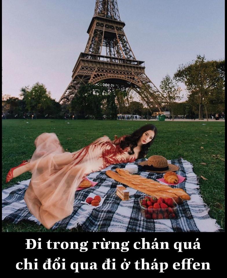 """Biết chị nhà thích đi du lịch, """"fanti"""" cho Chi Pu đi vòng quanh thế giới nhân dịp sinh nhật với... đúng 1 bộ đồ - Ảnh 6."""