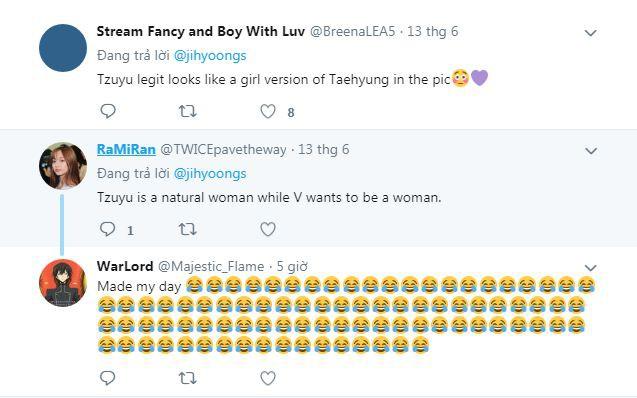 Chẳng phải anh em, nữ thần thế hệ mới Tzuyu (TWICE) bỗng hóa phiên bản nữ của mỹ nam BTS này chỉ vì cắt tóc mái - Ảnh 6.