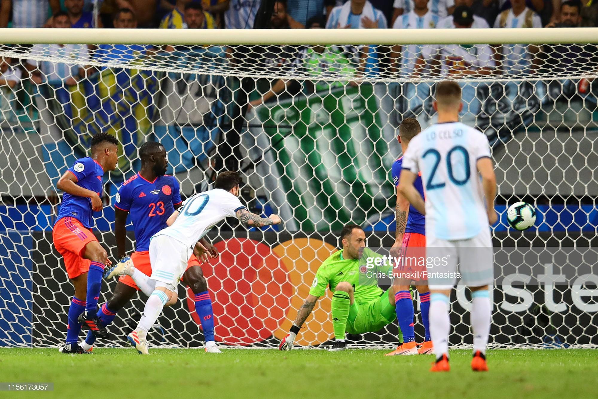 Messi mờ nhạt, Argentina nhận thất bại tủi hổ ở trận ra quân Copa America - Ảnh 5.