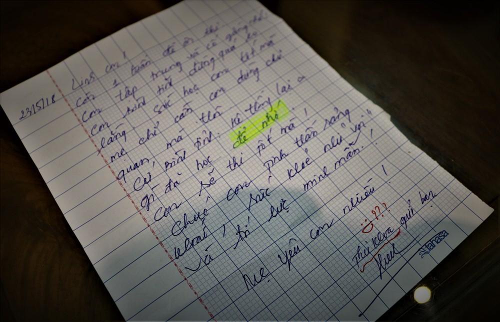 Lá thư của người mẹ gửi thủ khoa lớp 10 trước ngày thi - Ảnh 1.