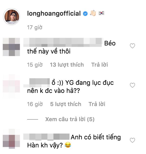Long Hoàng sang Hàn Quốc theo lời mời của SM Entertainment, đi để trở về và kết quả là... tăng cân - Ảnh 4.