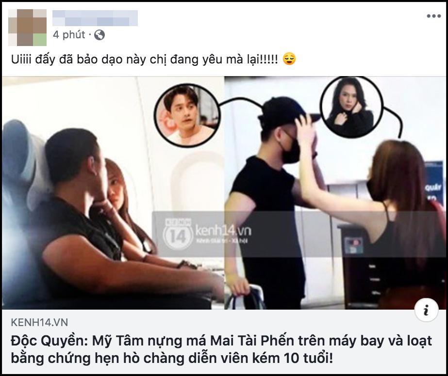 """Netizen Việt """"choáng váng"""" toàn tập trước loạt bằng chứng hẹn hò của Mỹ Tâm - Mai Tài Phến! - Ảnh 3."""