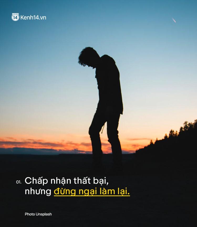 Đừng sợ thất bại, chấp nhận nó, bạn mới ngộ ra 10 bài học quý giá không gì có thể mua được - Ảnh 1.