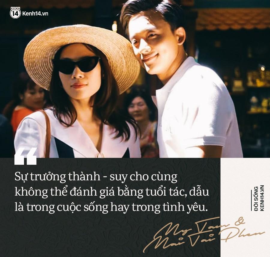 """Chuyện tình chị Tâm anh Phến: """"Tuổi tác có gì đâu quan trọng, độc thân gặp nhau thì để họ yêu nhau đi"""" - Ảnh 2."""
